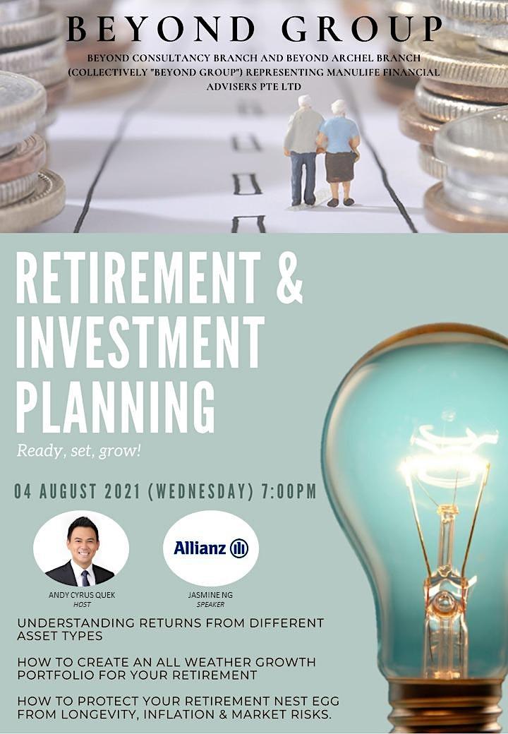 Retirement & Investment Planning image