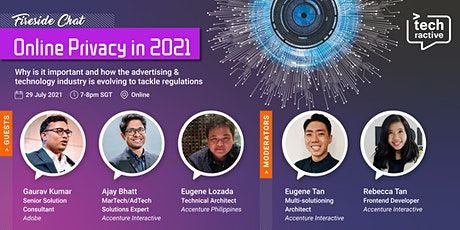 Adobe x Accenture: Virtual Fireside Chat on Online Privacy in 2021 tickets