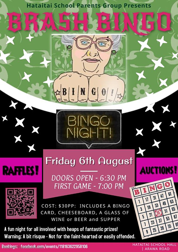 Brash Bingo Evening image
