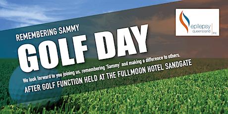 Remembering SAMMY - GOLF DAY tickets