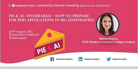 Pie & AI: Hyderabad - How to Prepare for PhD in Big Universities? Part-II billets