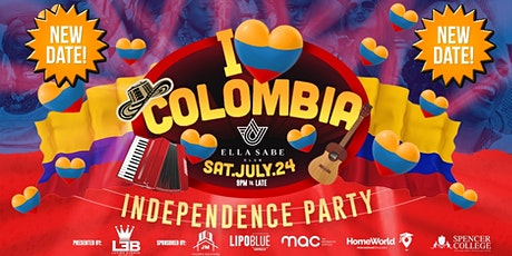 I ❤ COLOMBIA - SATURDAY 24TH JULY tickets