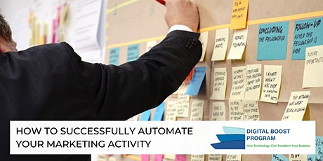 How To Successfully Automate Your Marketing Activity tickets