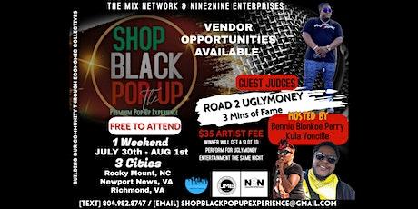 Shop Black Pop Up: Three City Tour (Day 1) tickets