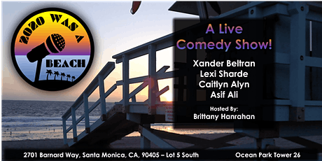 Live Comedy on the Beach tickets