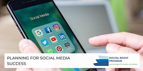 Planning for Social Media Success tickets