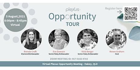 Virtual Plexus Opportunity Meeting -  Oakey biglietti