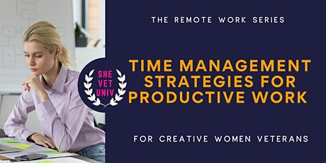 Time Management Strategies for Productive Work tickets