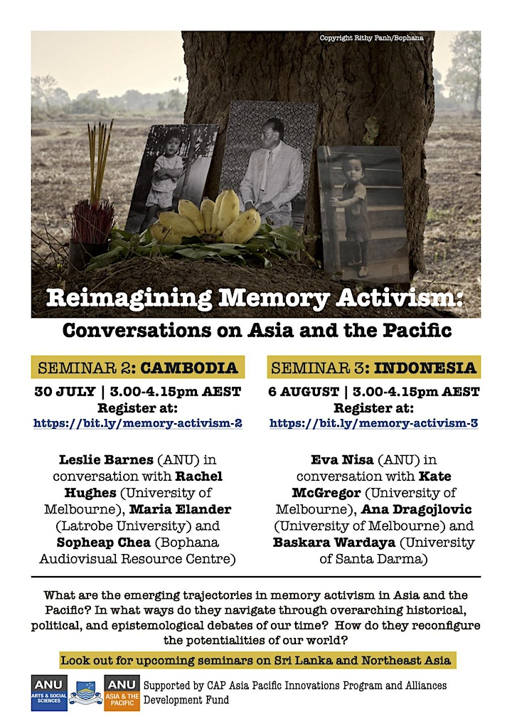 Reimagining Memory Activism: Conversations on Asia and the Pacific #2 image