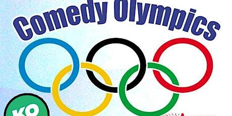 The 2021 Comedy Olympics  LIVESTREAM tickets