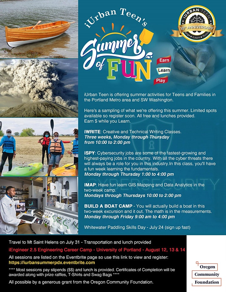 Summer of Fun - Earn, Play, Learn image