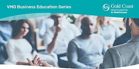 VMO Business Education Series: Staff Management, HR & Medical Marketing tickets