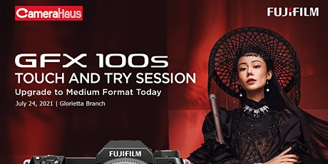 Fujifilm GFX 100S Touch and Try tickets