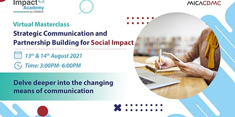 Strategic Communication and Partnership Building for Social Impact tickets