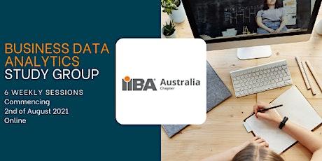 Business Data Analytics Study Group tickets