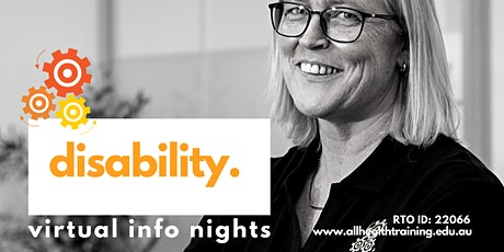 Virtual Information Session | Disability Course tickets