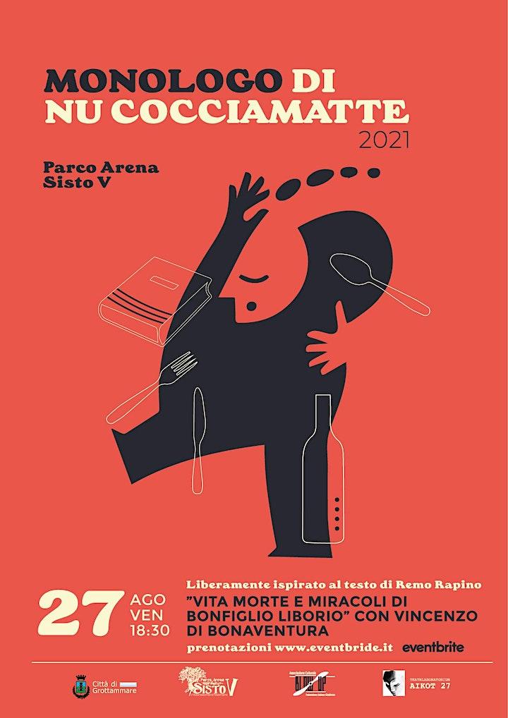 Immagine Officina teatrale - Monologo di nu Cocciamatte