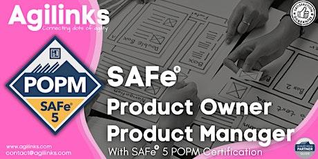 SAFe 5.0 POPM (Online/Zoom) Aug 21-22, Sat-Sun, London Time (GMT) tickets