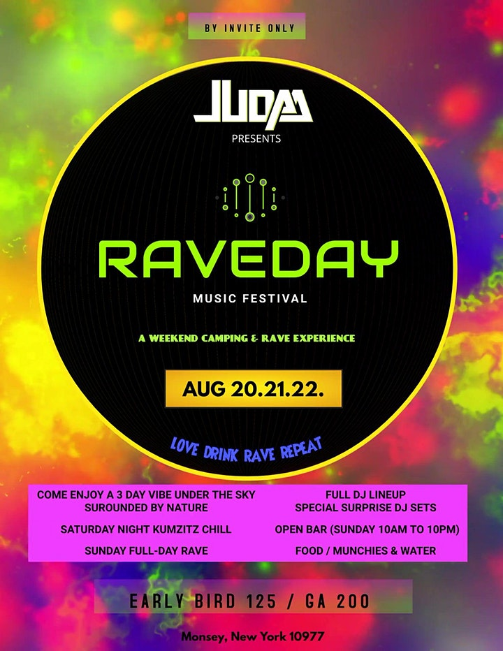 RAVEDAY MUSIC FESTIVAL WEEKEND image