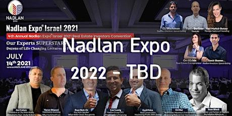 Nadlan Expo Israel 2022 tickets