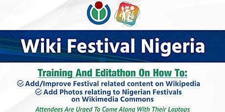 WikiFestival Nigeria tickets