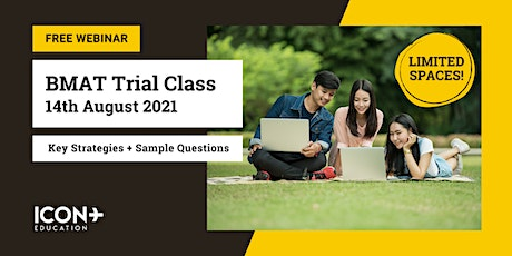 BMAT Trial Class (14th Aug 2021) tickets