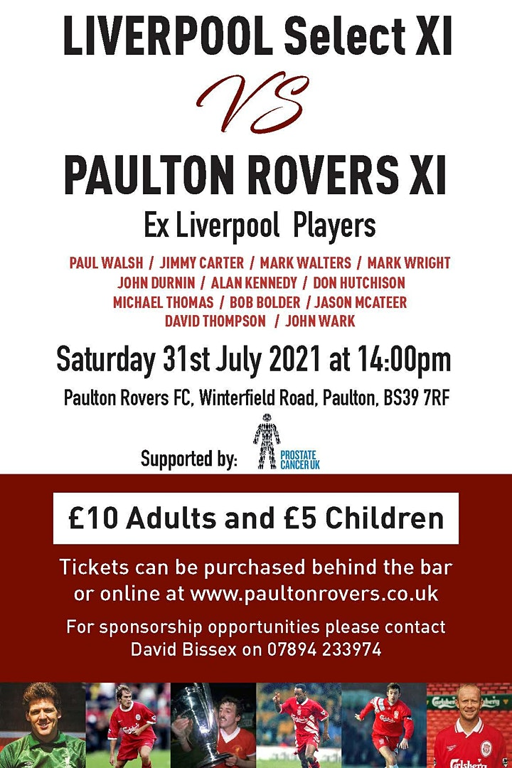 Liverpool Select XI v Paulton Rovers XI image