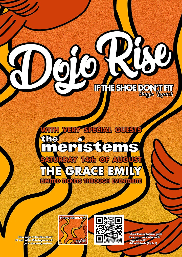 Dojo Rise 'If The Shoe Don't Fit' Single Launch with The Meristems image