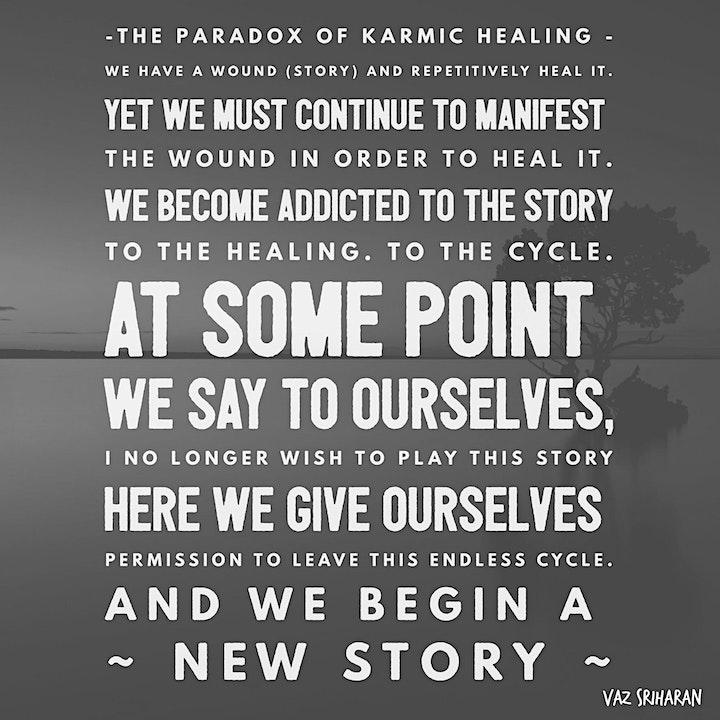 Accelerated Relationship Healing (Karmic Patterns) with Vaz & Adya image