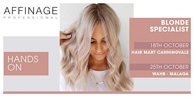 Affinage:  Hands On – Blonde Specialist