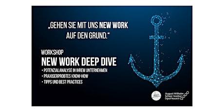 New Work Deep Dive - Workshop Tickets