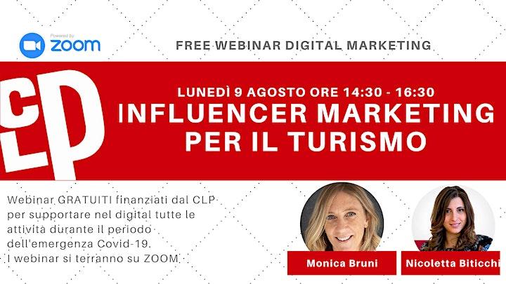 Immagine Webinar Gratuito TURISMO E MARKETING DIGITALE