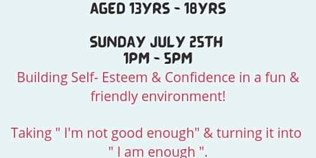 Confident Teens Workshop tickets