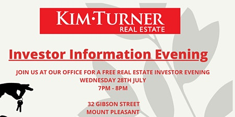 Kim Turner Real Estate Investor Evening tickets
