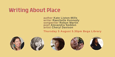 Writing About Place: Kate Liston-Mills in conversation tickets