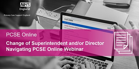 Change of Superintendent and/or Director - Navigating PCSE Online Webinar biglietti