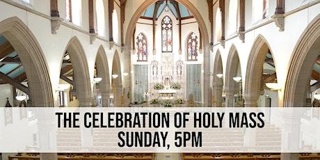 Sunday, 5pm Mass tickets