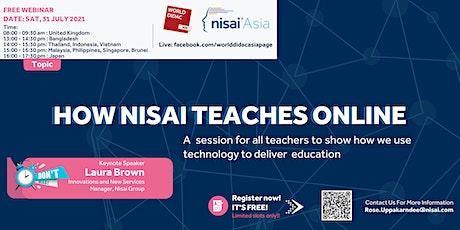 How Nisai Teaches Online tickets
