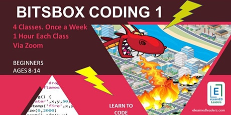 Bitsbox Coding 1 - Beginners Coding for Kids (4 sessions) tickets