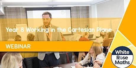 **WEBINAR** Year 8 - Working in the Cartesian Plane - 04/10/2021 billets