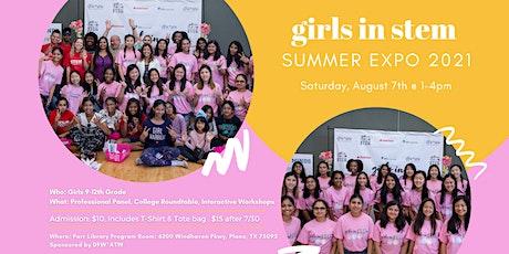 Girls in STEM Summer Expo 2021 tickets
