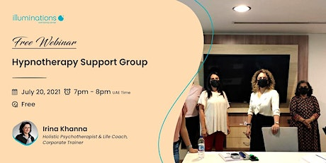 Free Webinar: Hypnotherapy Support Group With Irina Khanna tickets