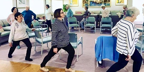 Gentle Chair exercises for strengthening  and balancing tickets