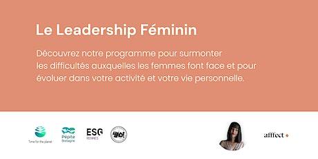 Le Leadership féminin billets
