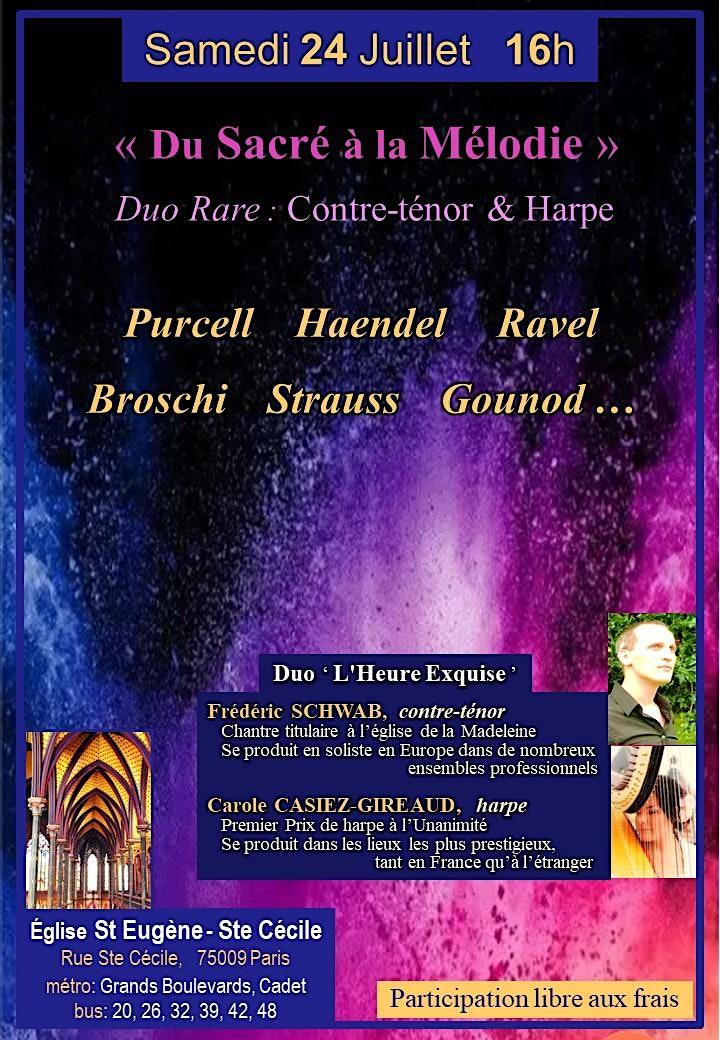 Image pour Duo Rare : Contre-ténor & Harpe