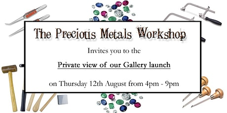 PMW Gallery Launch - Private View tickets