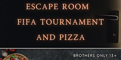 Escape room, Fifa Tournament and Pizza!