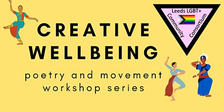 Creative Wellbeing - Poetry and Movement workshop 1 tickets