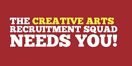 The Creative Arts Recruitment Squad - Norton Coffee Morning tickets