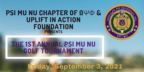 Psi Mu Nu Annual Golf Tournament tickets